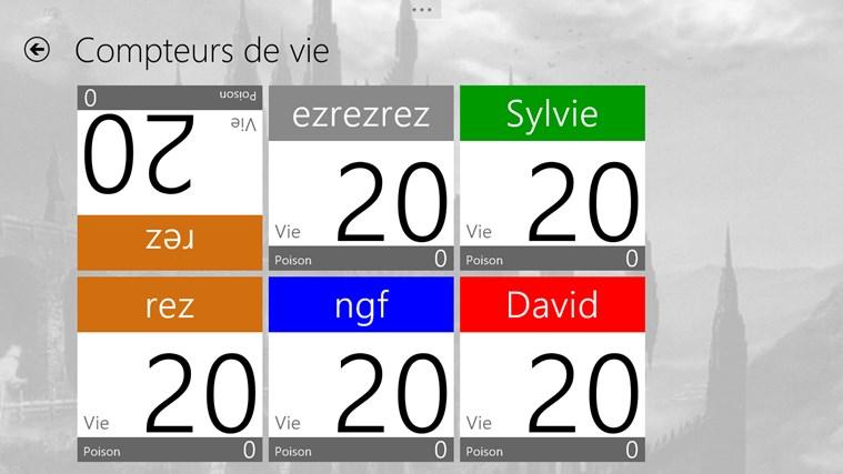 UrzaGatherer capture d'écran 7