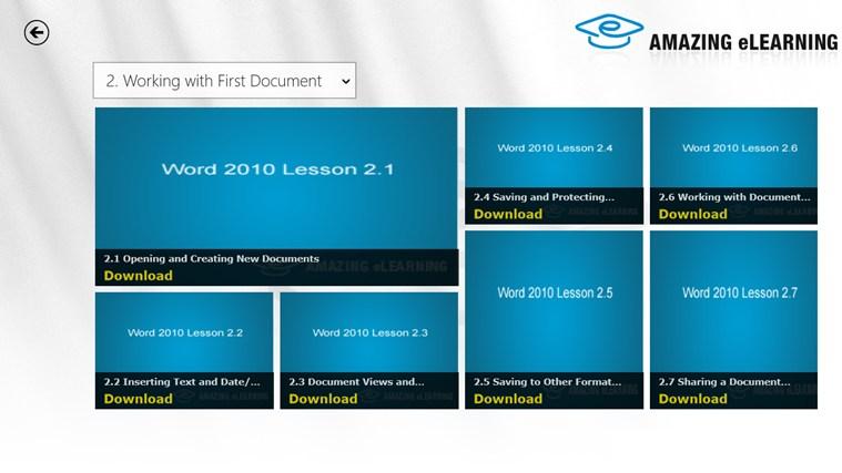 Easy Word 2010 Training ảnh chụp màn hình 3