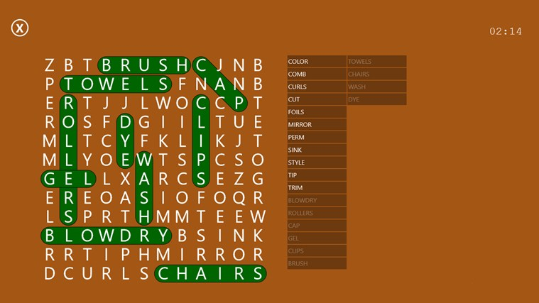 Word Search Party screen shot 5
