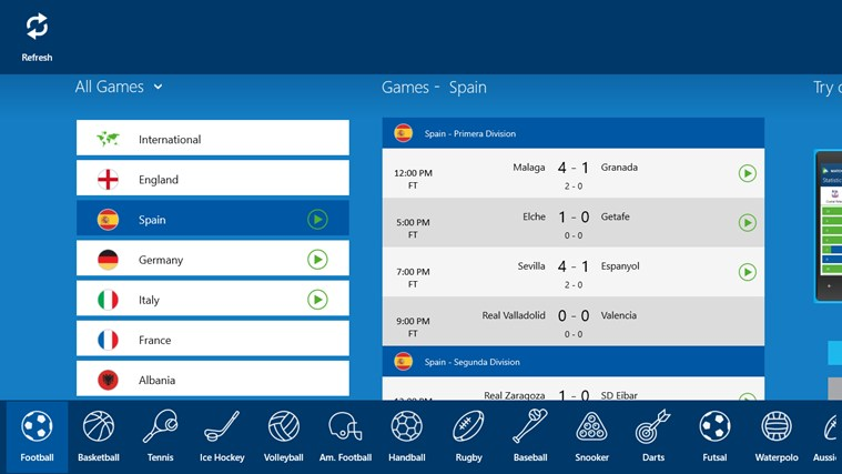 SofaScore LiveScore - Live sports results and scores screen shot 3