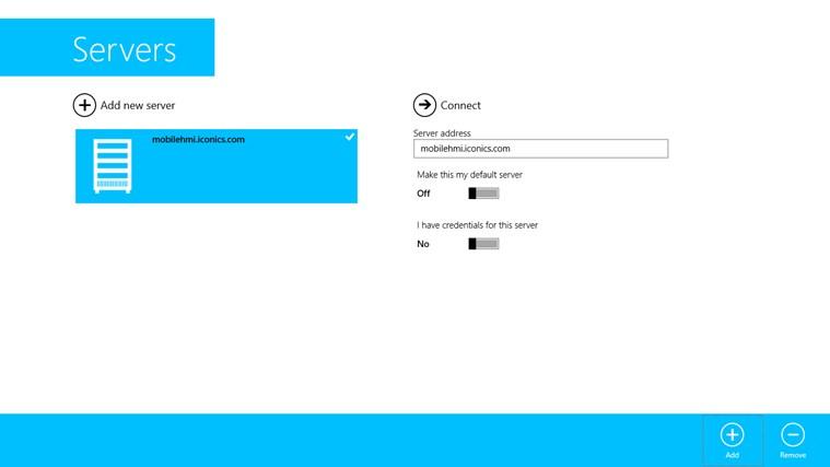 MobileHMI screen shot 5