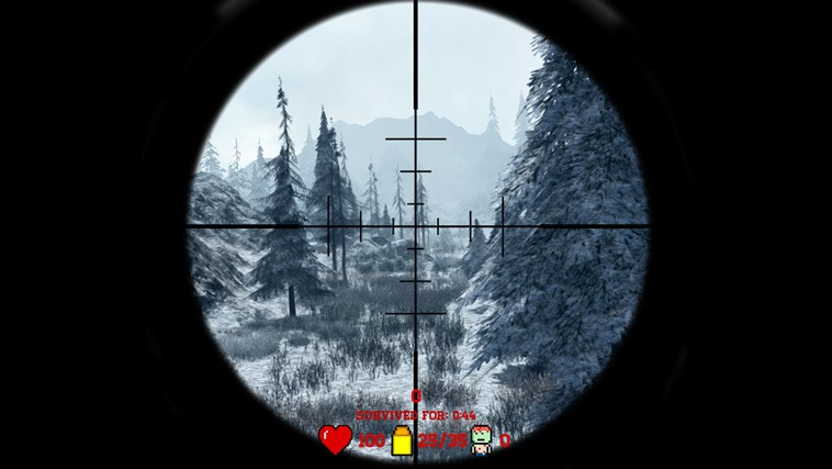 Awesome Zombie Sniper screen shot 5