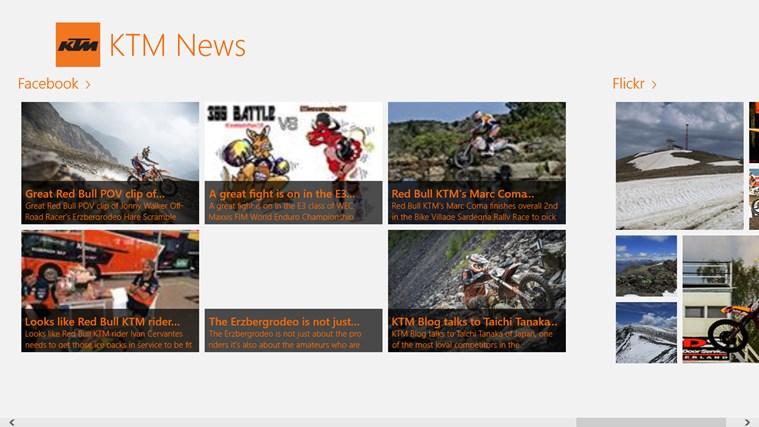 KTM News screen shot 3