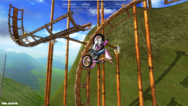 Motorbike screen shot 1