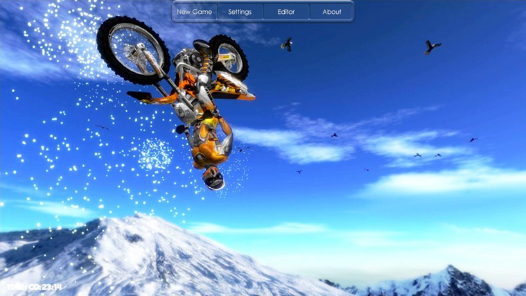 Motorbike screen shot 3