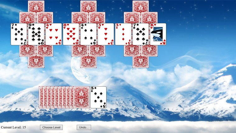 tri peaks solitaire rules