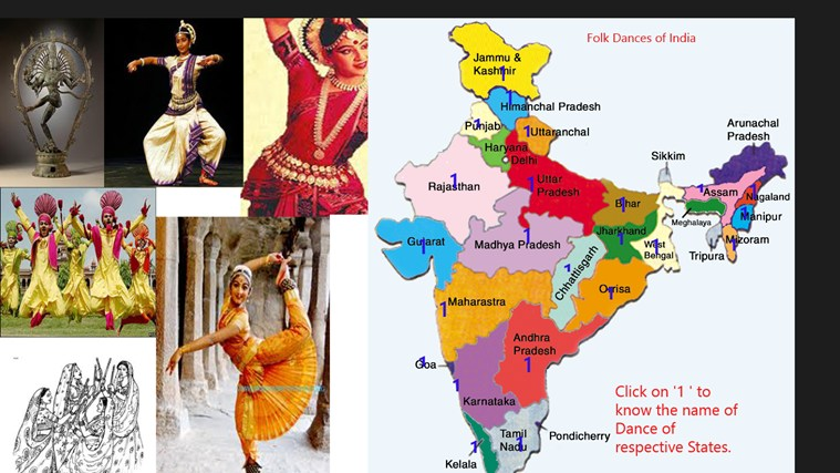 Folk Dance India app for Windows in the Windows Store