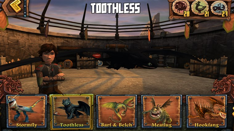 DreamWorks Dragons Adventure screen shot 3