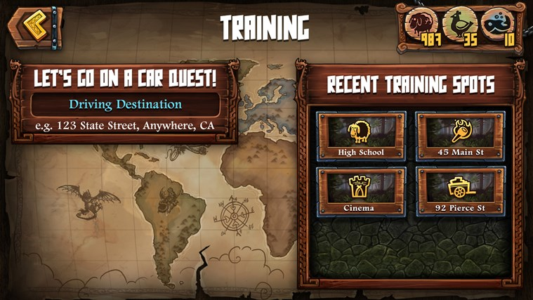 DreamWorks Dragons Adventure screen shot 5
