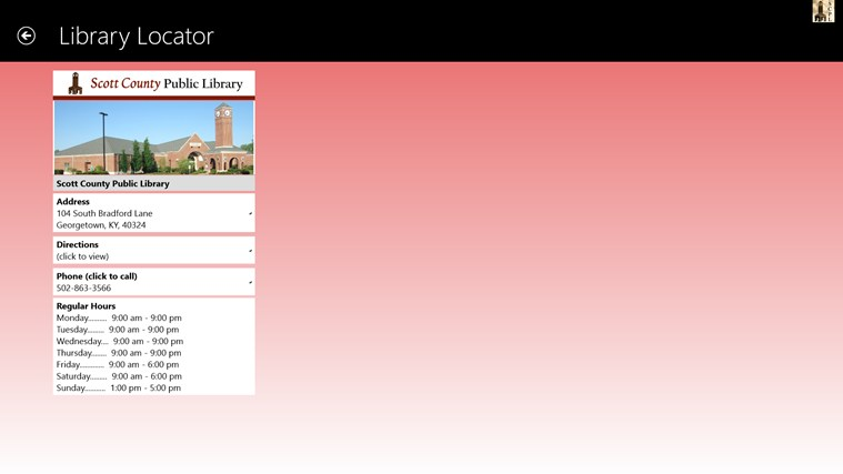Scott County Public Library screen shot 3