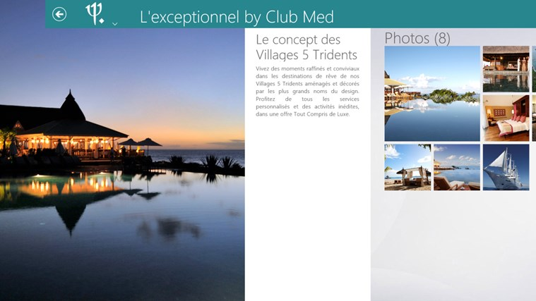 Club Med capture d'écran 1