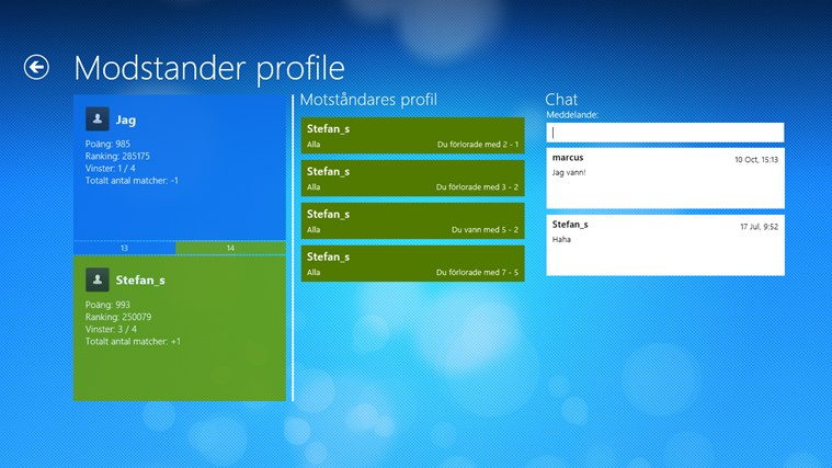 QuizMe for Windows 8-skärmbild 1