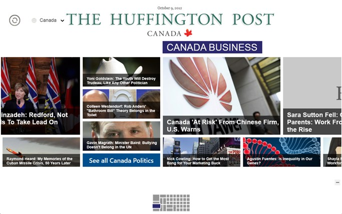 The Huffington Post Canada screen shot 1