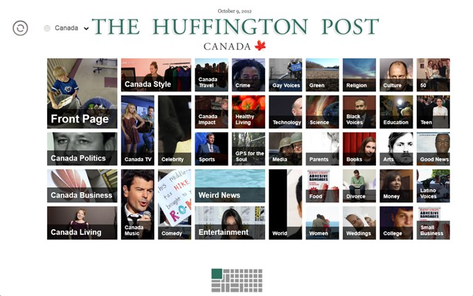 The Huffington Post Canada screen shot 5