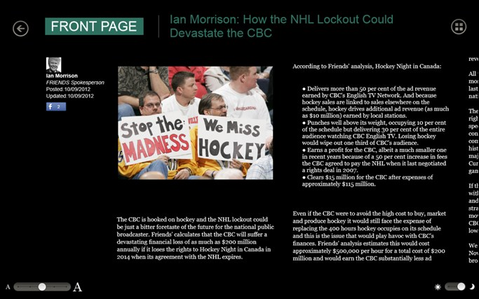 The Huffington Post Canada screen shot 7