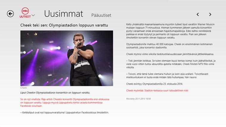 MTV Uutiset näyttökuva 3
