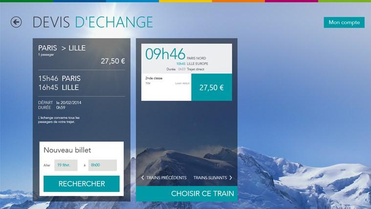 Voyages-SNCF capture d'écran 1