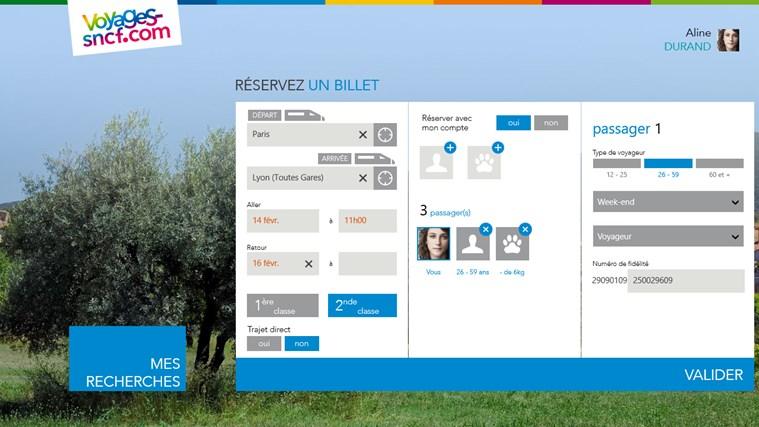Voyages-SNCF capture d'écran 5