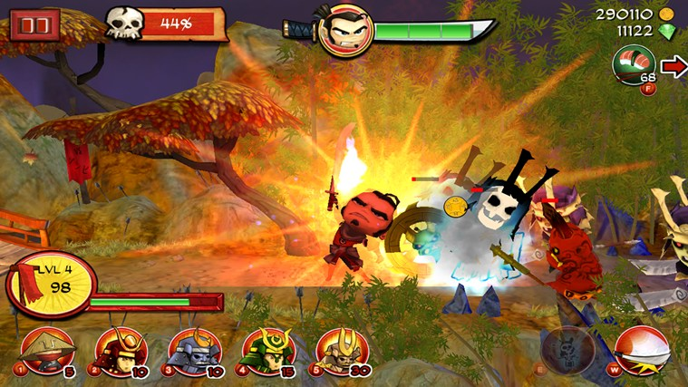 Samurai vs Zombies Defense screen shot 3