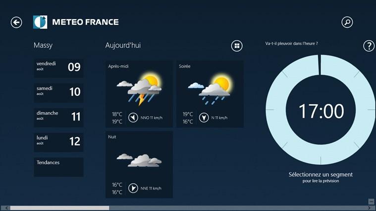 Météo-France capture d'écran 3
