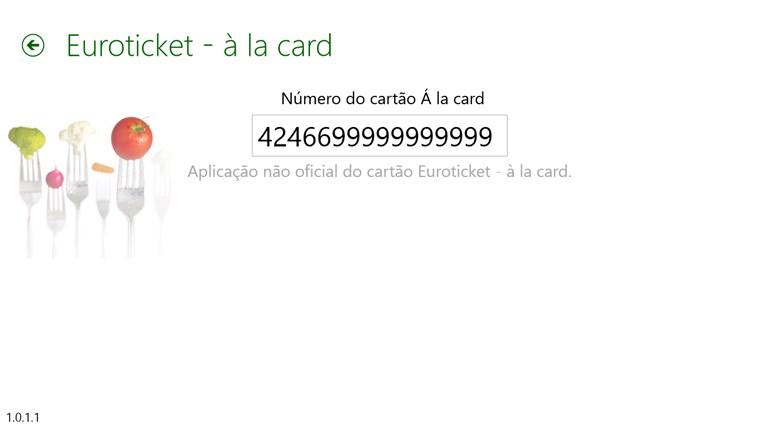 Euroticket - à la card captura de ecrã 3