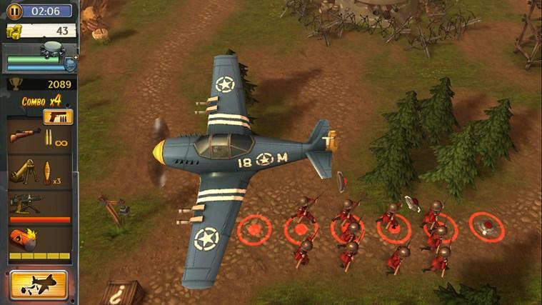 Hills Of Glory 3D screen shot 1