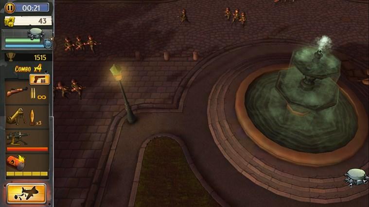 Hills Of Glory 3D screen shot 3