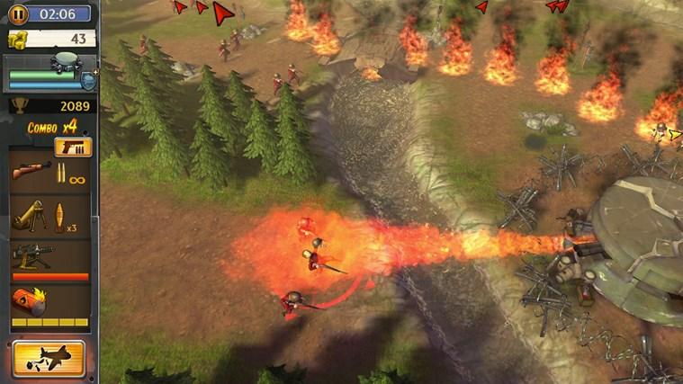 Hills Of Glory 3D screen shot 5