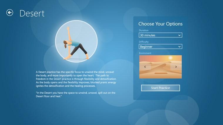 Pocket Yoga screen shot 1