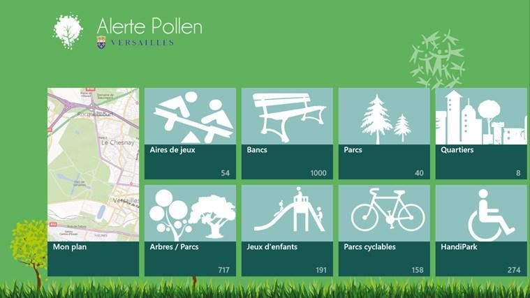 Alerte Pollen capture d'écran 1