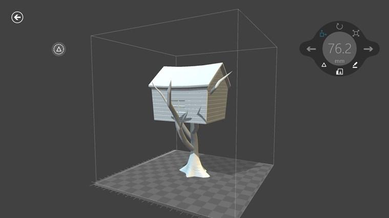 3D Builder screen shot 5
