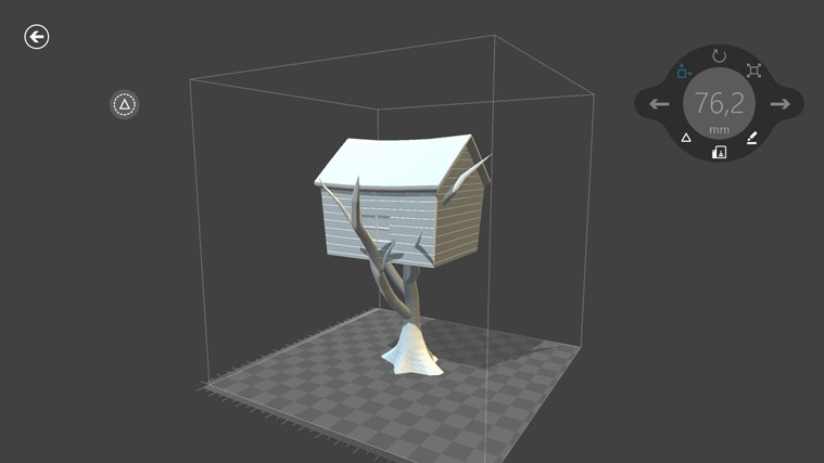 3D Builder-skärmbild 5