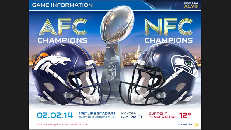 Super Bowl XLVIII – NFL Official Program screen shot 1