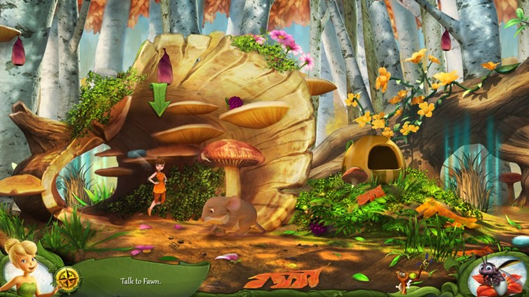 Disney Fairies Hidden Treasures screen shot 3