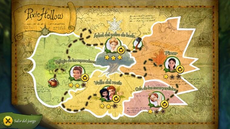Tesoros ocultos de Hadas Disney captura de pantalla 1