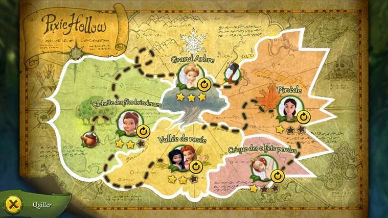La chasse aux trésors des fées Disney capture d'écran 1
