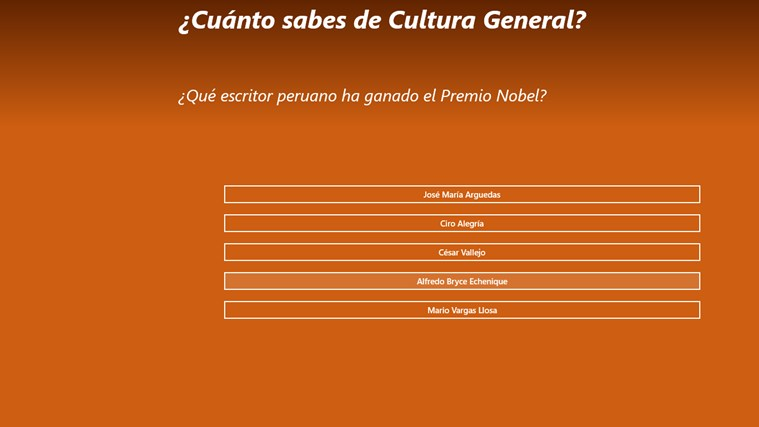 Cuánto sabes de Cultura General screen shot 1