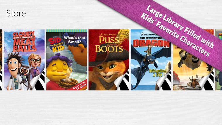 iStoryTime Library of Kids Books screen shot 1