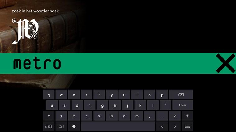 Woordenboek schermafbeelding 1