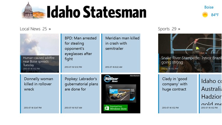 Idaho Statesman screen shot 1