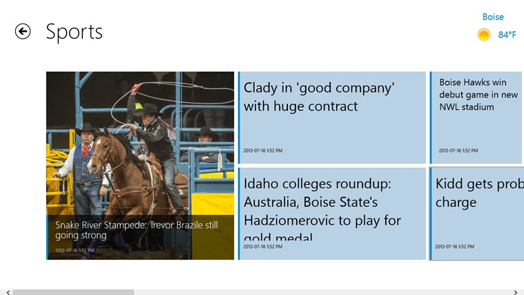 Idaho Statesman screen shot 3