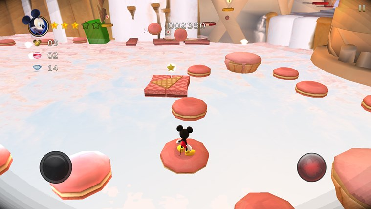 Castle of Illusion Starring Mickey Mouse screen shot 1