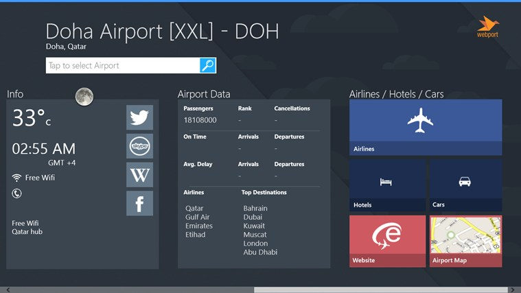 Doha Airport + Flight Tracker screen shot 3