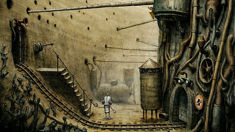 Machinarium screen shot 1