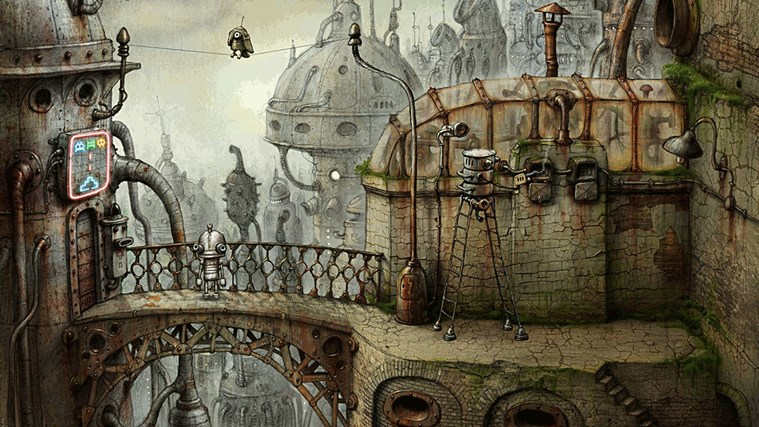 Machinarium screen shot 3