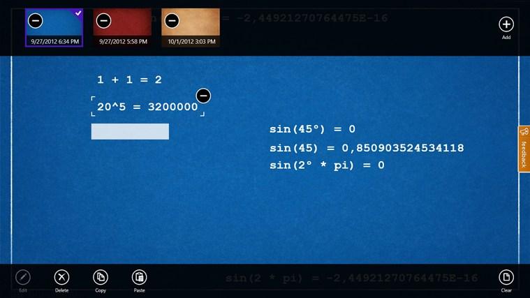 Rechner screen shot 1