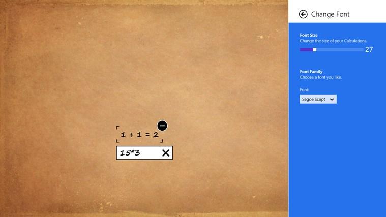 Rechner screen shot 5