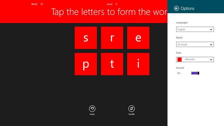 Play Wordastic ekrānuzņēmums 3