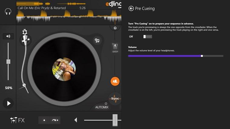 edjing - DJ mixer console studio - Play, Mix, Record & Share your sound! screen shot 3
