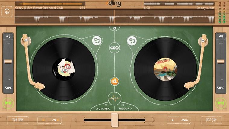 edjing - DJ mixer console studio - Play, Mix, Record & Share your sound! screen shot 7